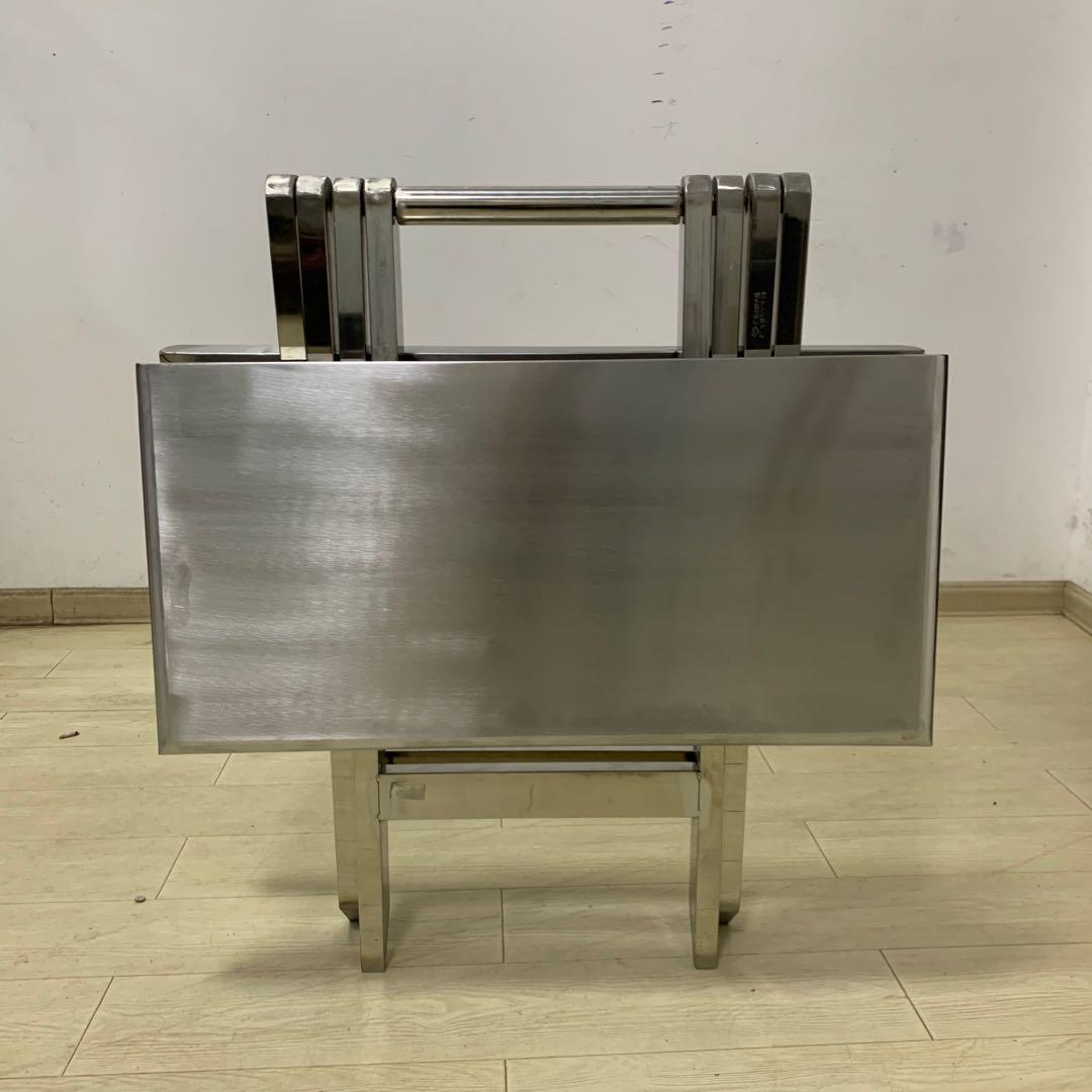 长沙万博登陆官网厂-不锈钢折叠桌
